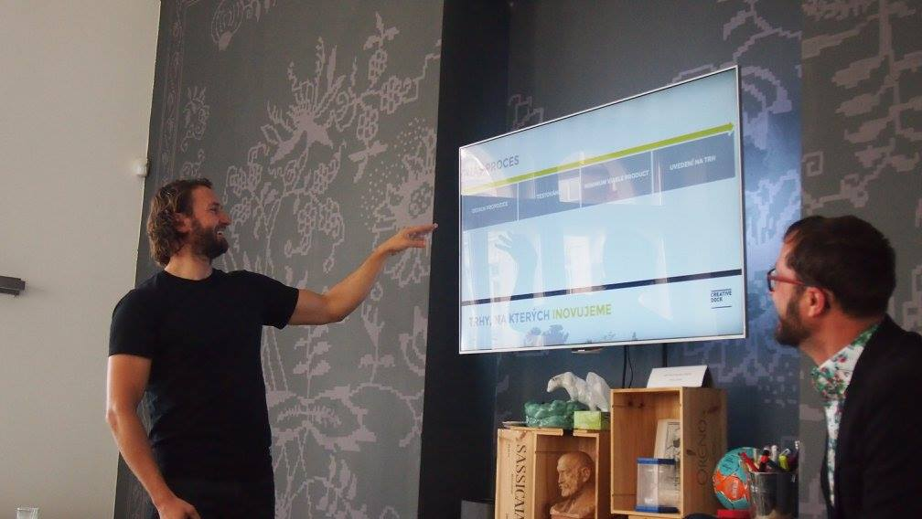 CreativeDock – garáž plná start-upů